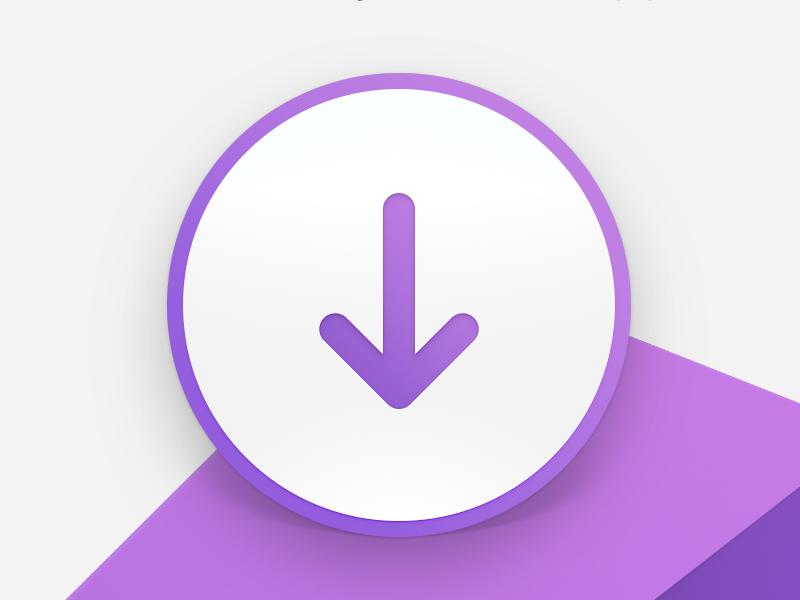 Visual Studio for Mac Installer DMG background dmg purple icon macos installer