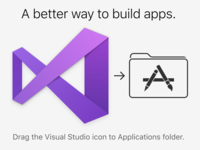 Maybe it could be more obvious? drag app application folder installer dmg icon