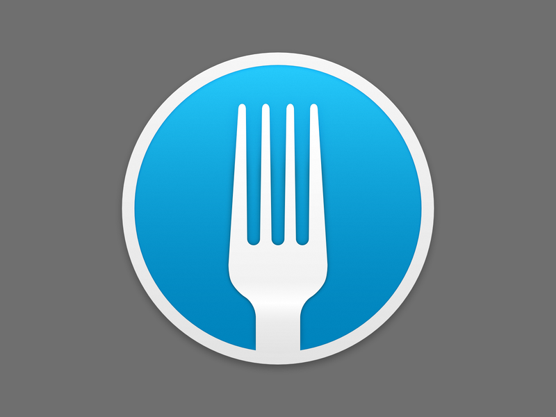 Fork.app Icon by Václav Vančura on Dribbble