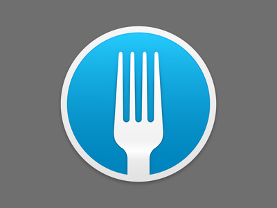 Fork.app Icon fork app icon macos mac git icon mac os applicaiton