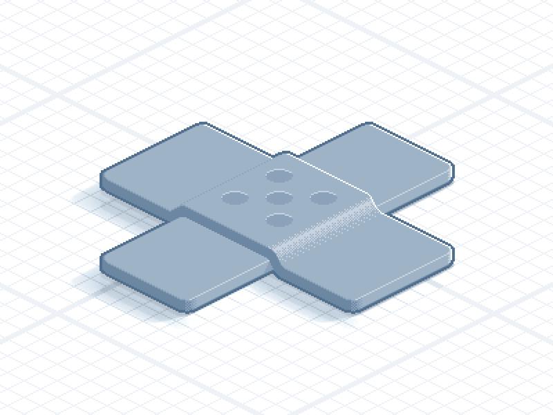 Hotfix sprite icon pixelart pixel pixelated isometric iso patch