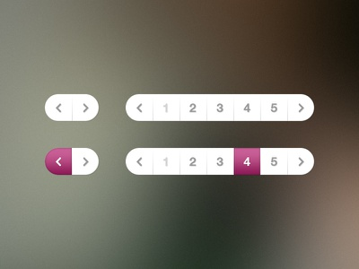 Pagination pagination page number navigation pages purple ui freebie