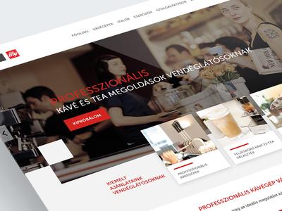 EspressoShop website