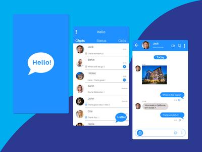 Helllo ! - Messenger Mobile App
