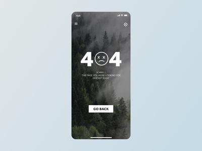 404 Not Found UI - Daily UI