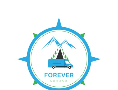 Forever Abroad - Travel Logo