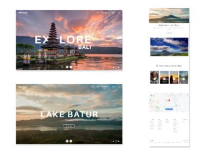 Bali Travel - Web UI