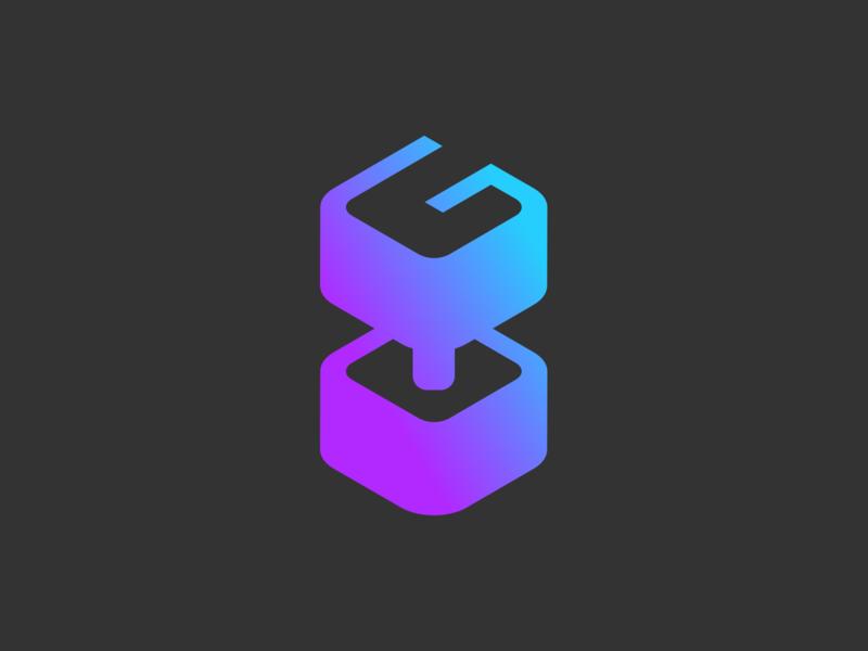 Gym Planner — Logo brandbook ecommerce design minimalism grey weights kettlebell colorful minimalistic purple gradient branding logo gym logo fitness app fitness gym