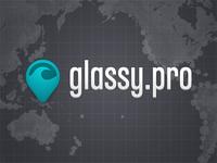 Glassy.pro logo