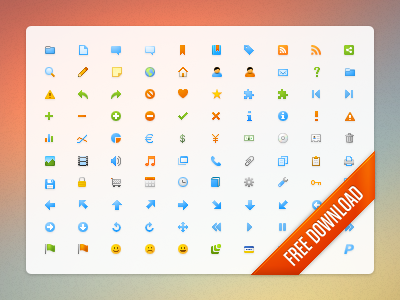 Microscopic icon set (10x10) icon icons free freebie download bullet