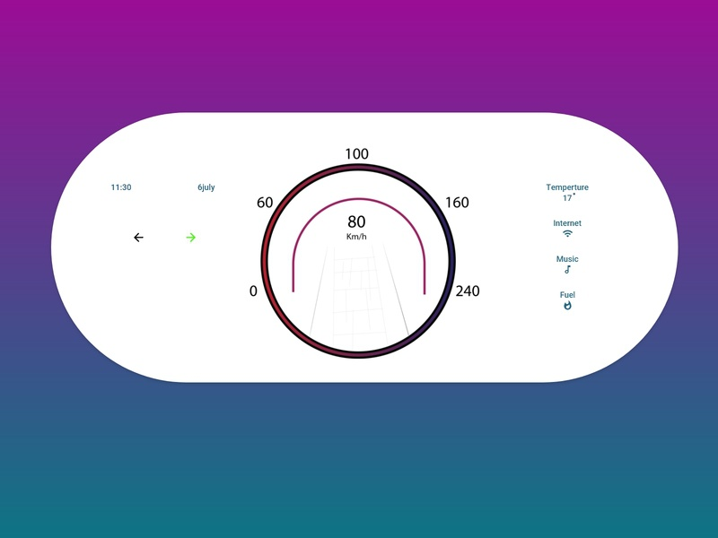 Daily UI 34 Car Interface illustrator xd daily ui daily 100 challenge ui design