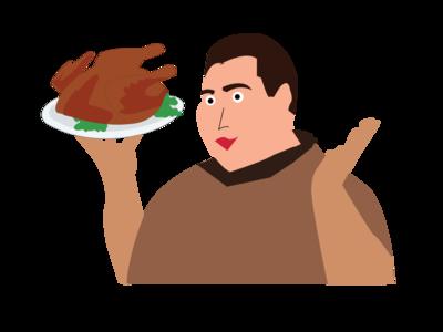 Vector Chef vector illustration illustrator daily ui ui design