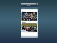 Daily UI 69 Trending app xd daily 100 challenge daily ui ui design