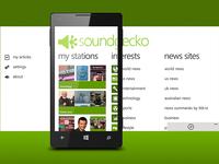 SoundGecko for Windows Phone v2