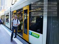 Melbourne public transport for Google Glass