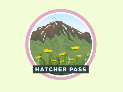 Hatcher Pass Travel Badge