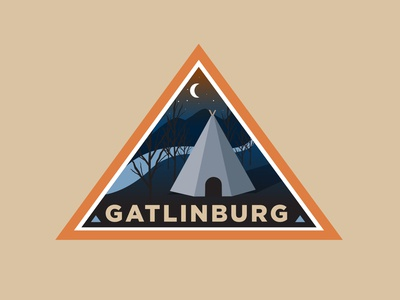 Gatlinburg Travel Badge