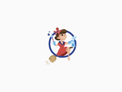 Cleaning Services Character Design