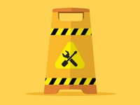 Maintenance Icon WIP