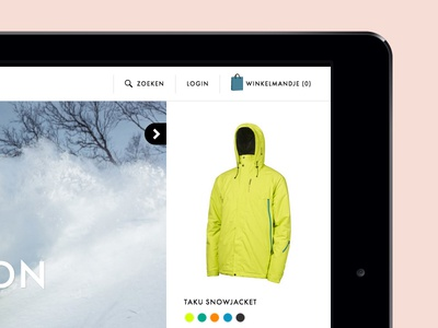 Protest brand and e-commerce site webdesign responsive ecommerce ux ui snowboard surfing website lookbook awwwards fwa