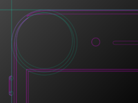 iphone7 Vector with SVG