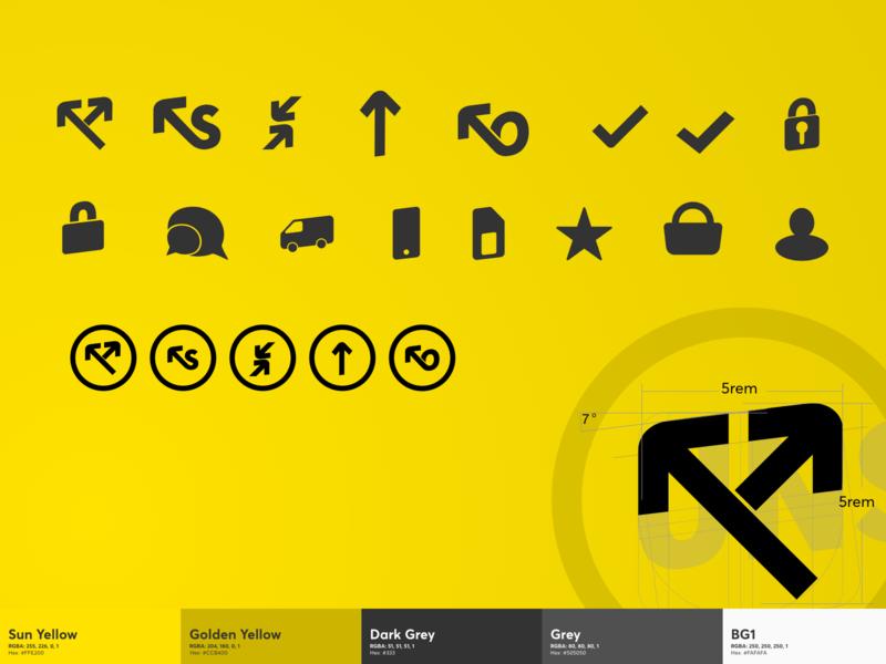 Icons website branding ui illustrations icons