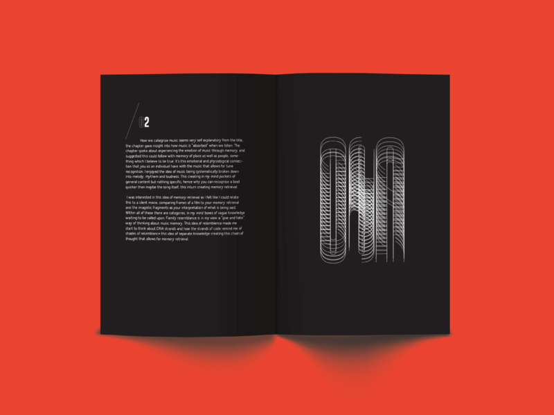 02-DNA type design booklet design editorial editorial design art animation type lettering identity typography logo branding brand icon graphic design clean minimal illustrator illustration design