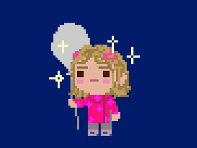 Emmi characters game cute design pixel pixelart