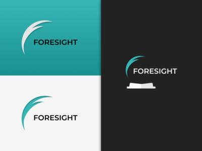 Foresight branding illustration graphic design logo vector