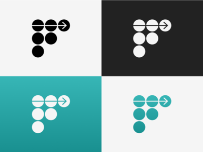 F Mark branding illustration graphic design logo vector