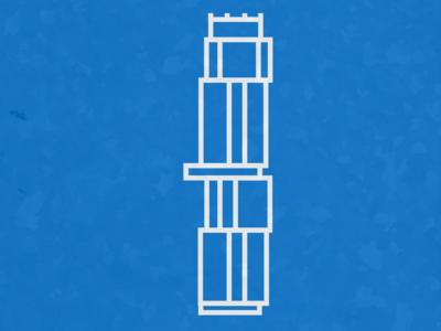 Independant1 atx architecture independant vector logo skyline texas austin