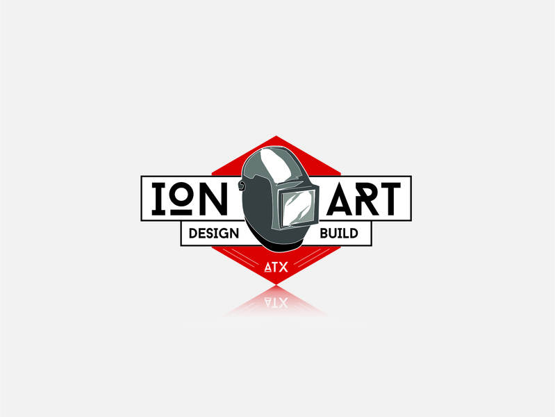 Ion Welder graphic design vector atx texas austin logo