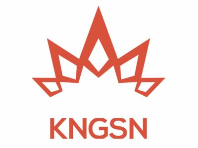 KNGSN typography icon branding illustration graphic design vector logo