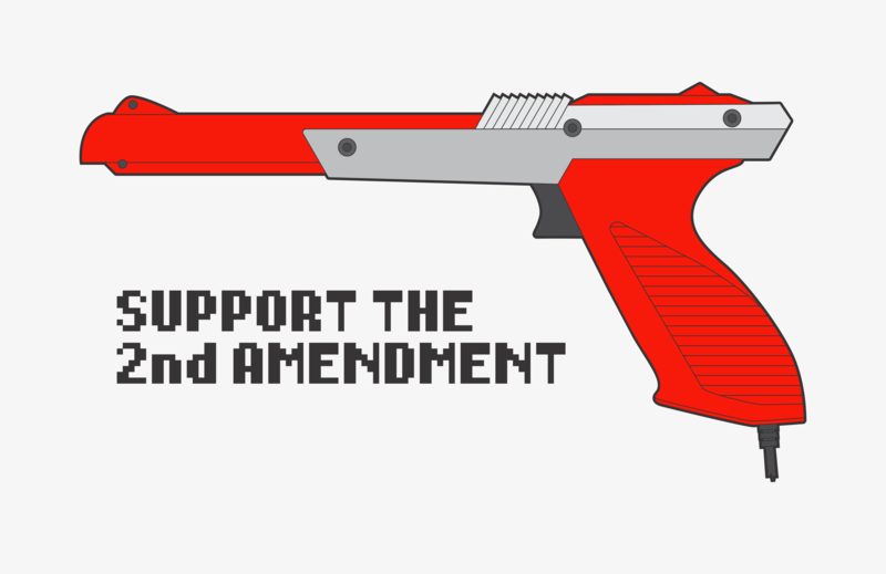 Duck Hunt illustration graphic design vector