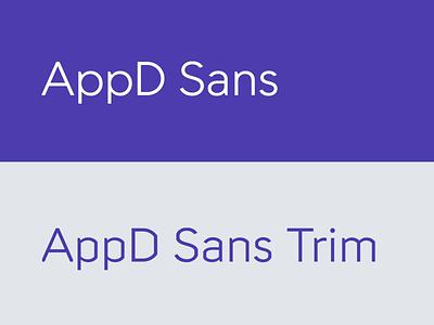 Appd Sans design animation font identity branding motion typography