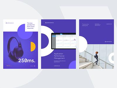 AppDynamics by Cisco print grid geometric typography poster identity branding