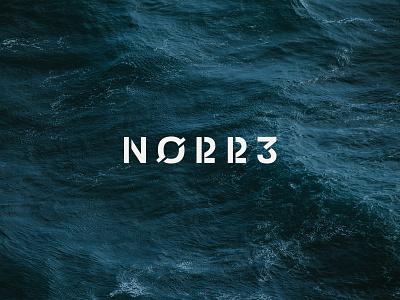 NØRR3 scandinavian design typography logo branding identity