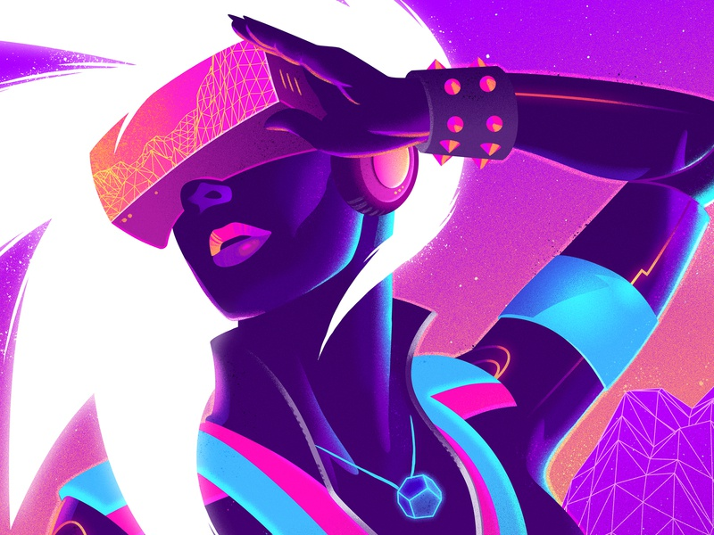 Muse: Tour poster signalnoise muse poster illustrator photoshop outrun vaporwave retrowave synthwave 1980s retro illustration design art