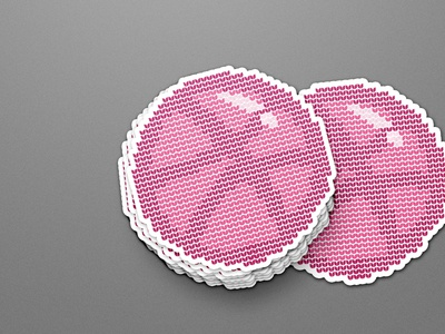 Dribbble is my knitted sweater.