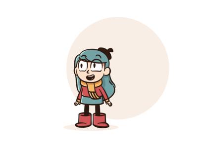 Hilda from hilda the series (fan arts)