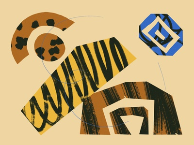 shapes dribbbble graphic design design abstract design texture illustration abstract art organic art shape organic