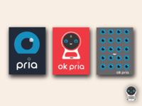 Pria Design Concepts branding vector design