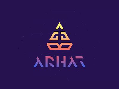 ARHAT type line brand logo nirvana soul space clothes yoga lotos buddha monk