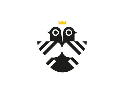 Coo-coo 2 cartoon comics shape pigeon minimalism logo dove bird