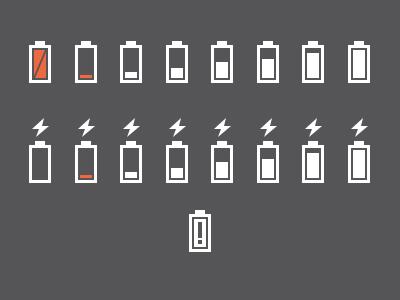 Dribbble battery