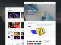 Website design home page