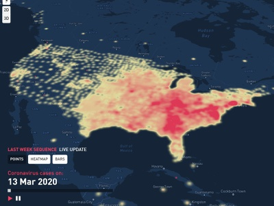 Heatmap Live Update map design gradient map heatmap mapping maps data mining data analytics database chart data data viz interactive map data analysis data visualisation geographic geography map mapbox data visualization dataviz