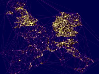 Europe EVcharge Density Map data infographic information design uidesigner ui  ux gradients data viz interactive map interaction design infographics storytelling geographic data visualization mapbox data visualisation data mining chart maps data analysis dataviz