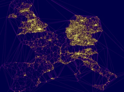 Europe EVcharge Density Map