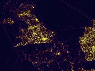 Europe EVcharge Density Map - Zoom